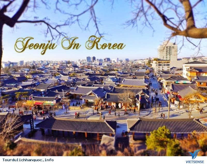 Giới Thiệu Du Lịch Jeonju Hàn Quốc - Ảnh 1
