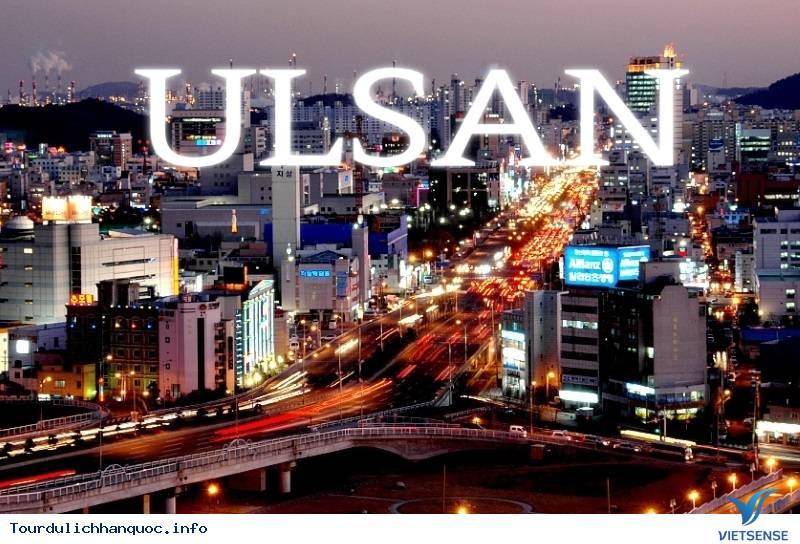 Giới Thiệu Du Lịch Ulsan Hàn Quốc - Ảnh 1