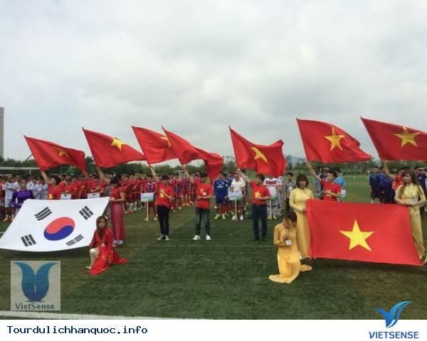Hàn Quốc: giải bóng đá Người Việt diễn ra sôi động và hấp dẫn