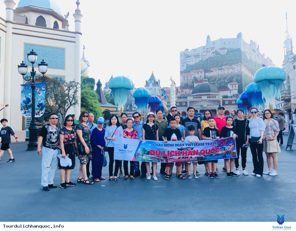 Hình ảnh đoàn du lịch Hàn Quốc cùng Vietsense từ ngày 10/7-14/07/2018 - Ảnh 3