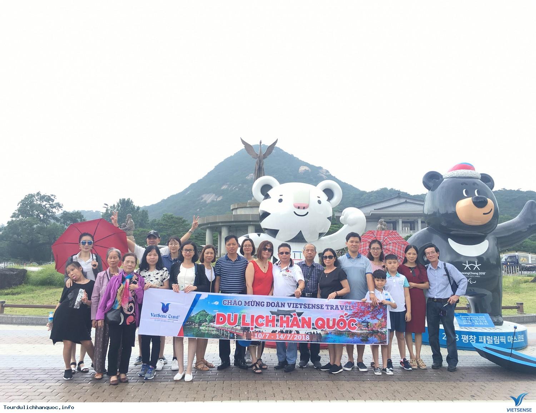 Hình ảnh đoàn du lịch Hàn Quốc cùng Vietsense từ ngày 10/7-14/07/2018 - Ảnh 1
