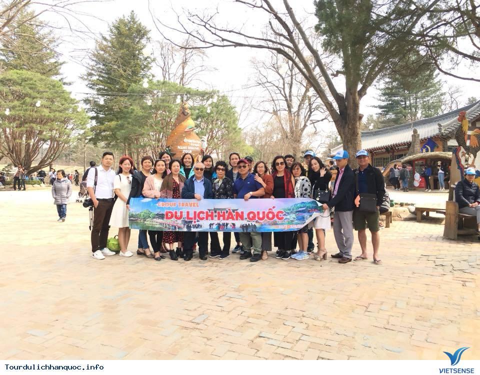 Hình ảnh đoàn Hàn Quốc 30/3-04/04/2018 khởi hành đồng hành cùng Vietsense Travel - Ảnh 1
