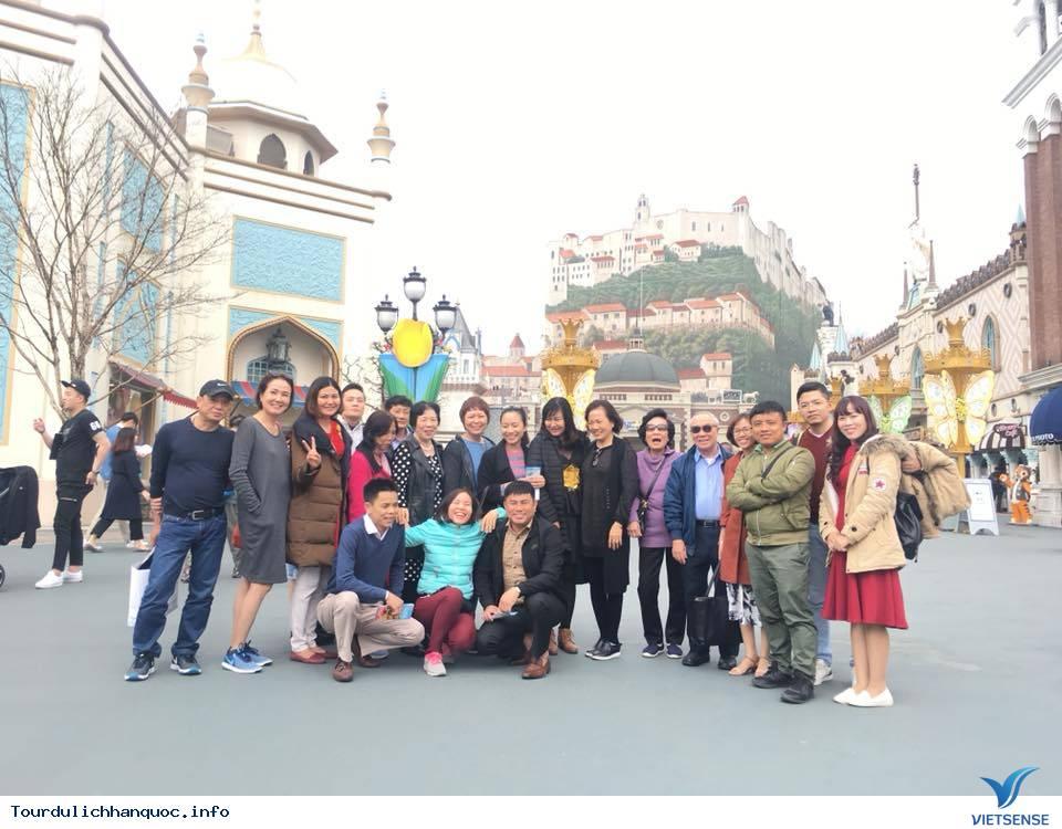 Hình ảnh đoàn Hàn Quốc 30/3-04/04/2018 khởi hành đồng hành cùng Vietsense Travel - Ảnh 2