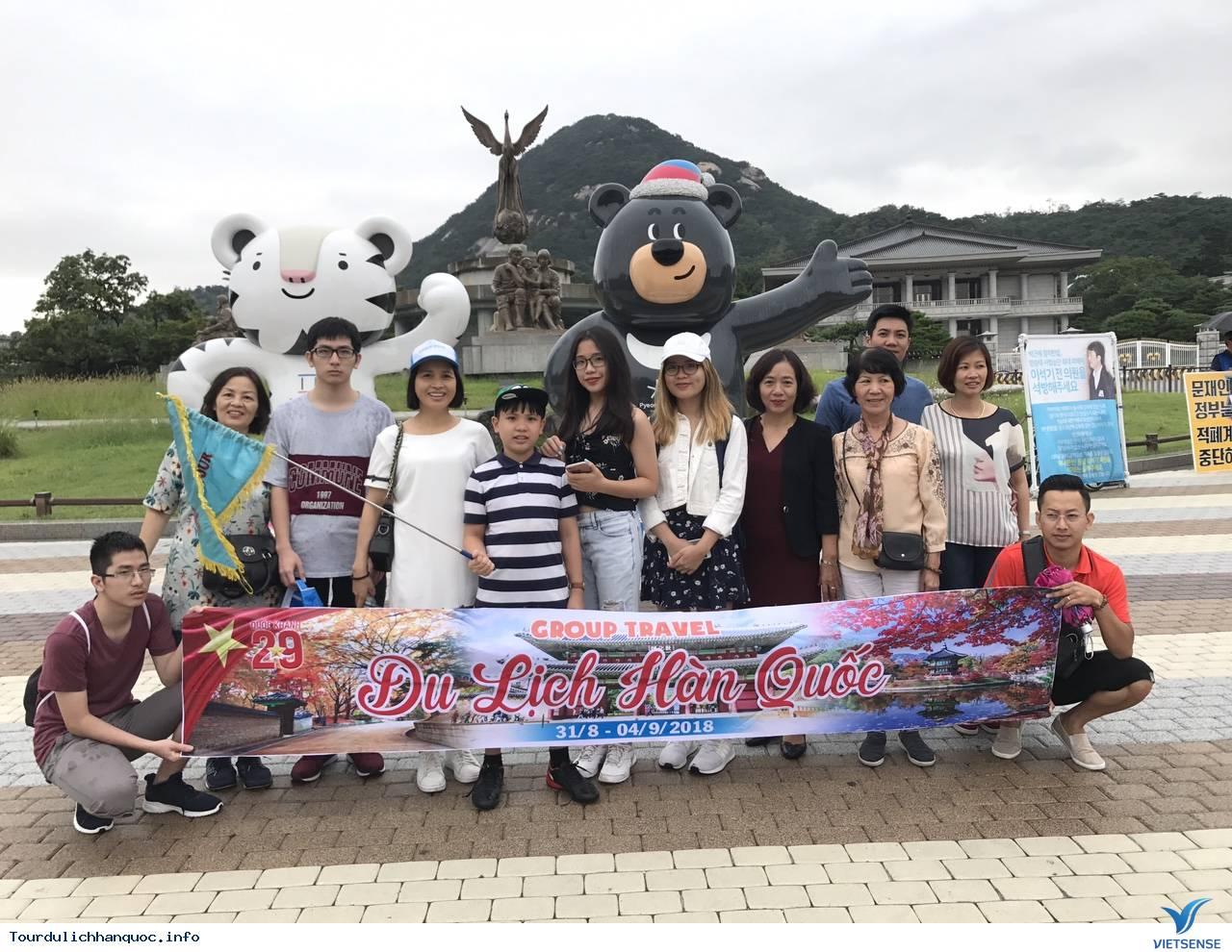 Hình ảnh đoàn Hàn Quốc 31/804/09/2018do Vietsense tổ chức