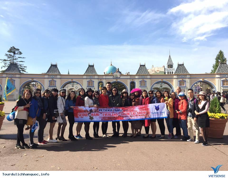 Hình ảnh đoàn khách tham quan Hàn Quốc mùa lá đỏ từ ngày 20/10-24/10/2017 - Ảnh 1