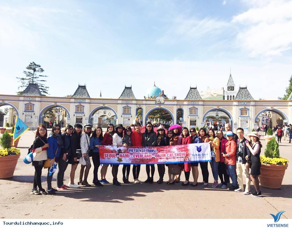 Hình ảnh đoàn khách tham quan Hàn Quốc mùa lá đỏ từ ngày 20/10-24/10/2017 - Ảnh 4