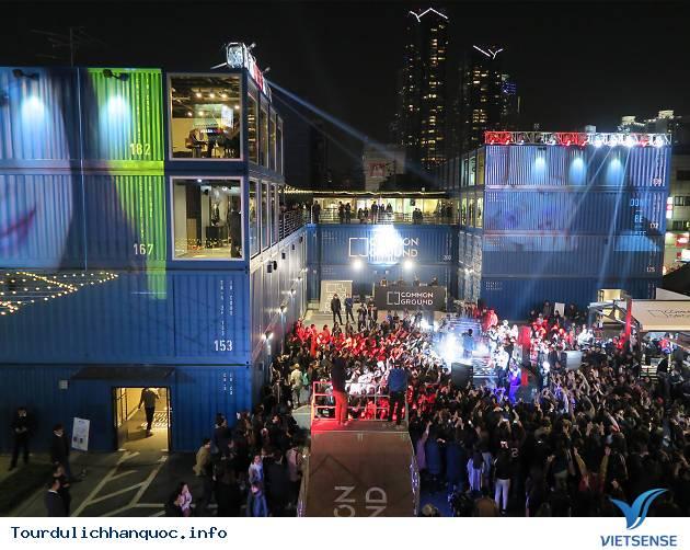 Khu mua sắm, ăn uống và sống ảo container cực chất ở Seoul - Ảnh 3