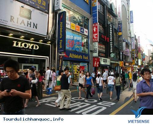 Khu Phố Mua Sắm Myeongdong - Ảnh 1