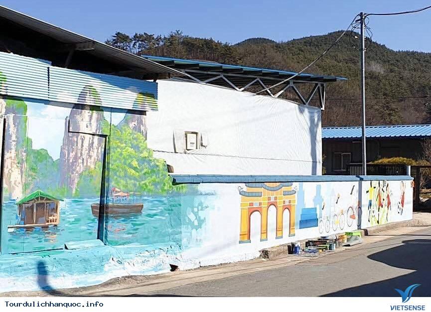 Khu phố tràn ngập những bức bích họa về đội tuyển Việt Nam tại Hàn Quốc - Ảnh 9