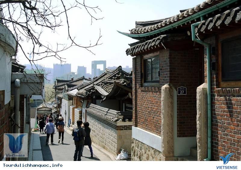 Làng Hanok Bukchon - Du lịch Hàn Quốc