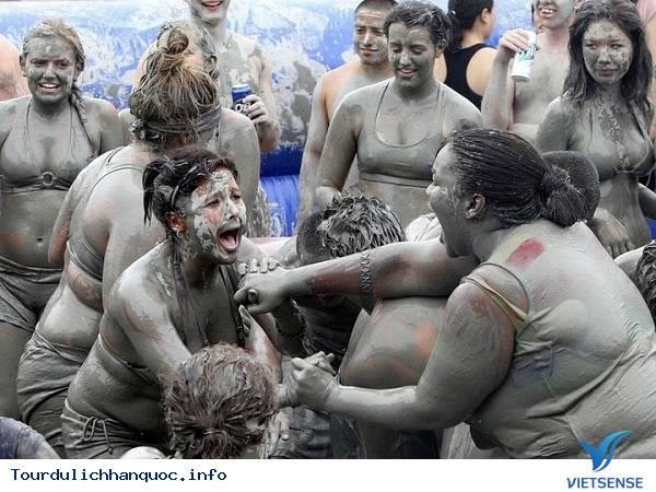 Lễ Hội Tắm Bùn Ở Hàn Quốc - Ảnh 4