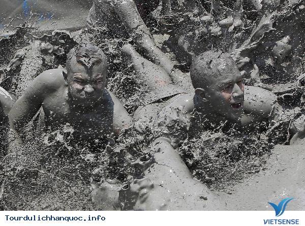 Lễ Hội Tắm Bùn Ở Hàn Quốc - Ảnh 5