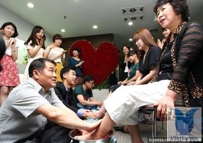 Lớp học cách yêu vợ con của đàn ông Hàn Quốc