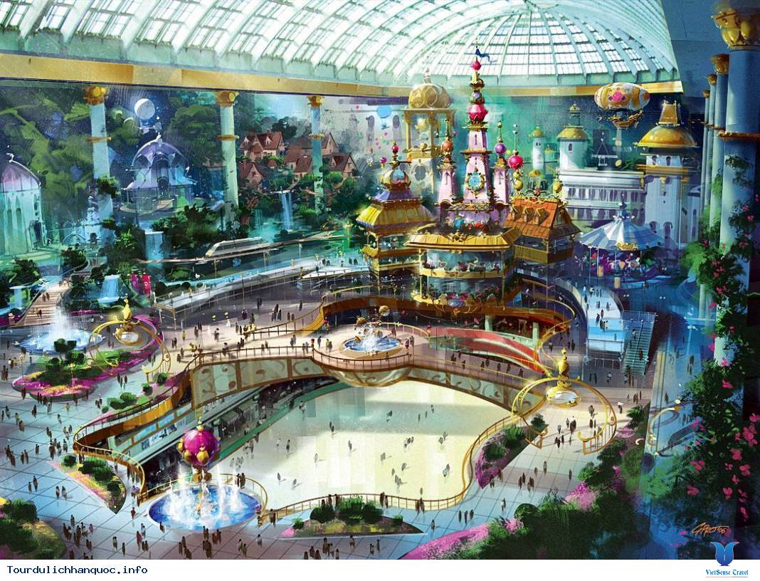 Lotte World hoặc Everland