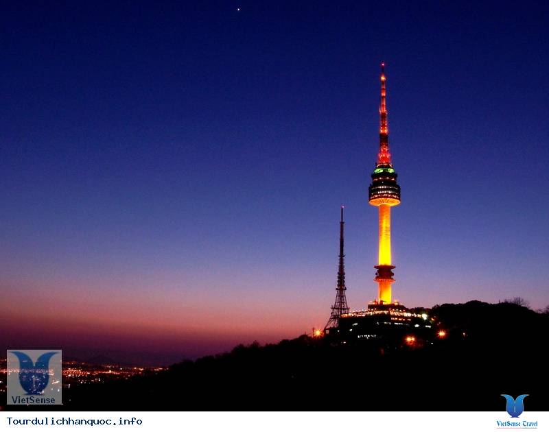 Du lich Han Quoc - N Seoul Tower