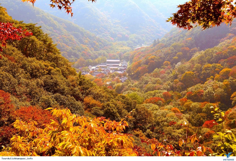 Ngắm Mùa Thu Hàn Quốc Ở Năm Ngọn Núi Đẹp Mê Hồn - Ảnh 5