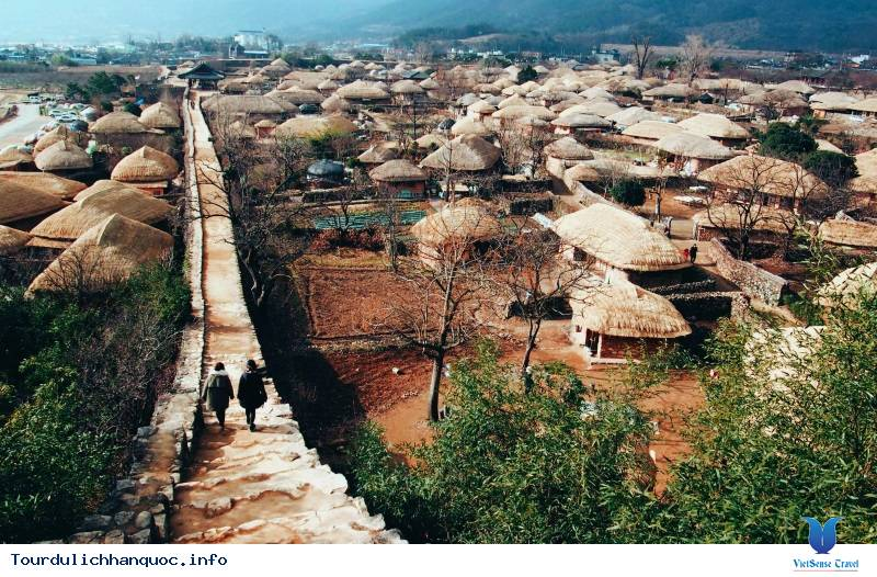 Ngôi Làng Cổ Mang Hình Cây Nấm Đầy Thú Vị Hấp Dẫn Du Khách Ở Hàn Quốc - Ảnh 4