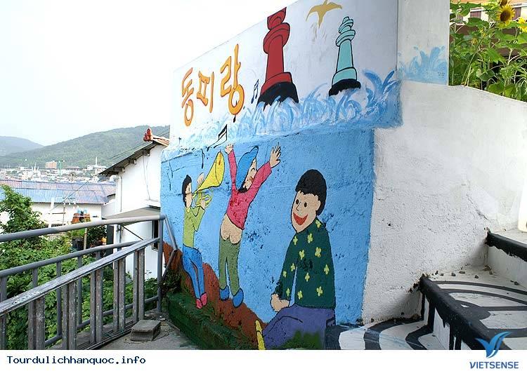 Những ngôi làng bích họa đẹp mê ly ở Hàn Quốc - Ảnh 7