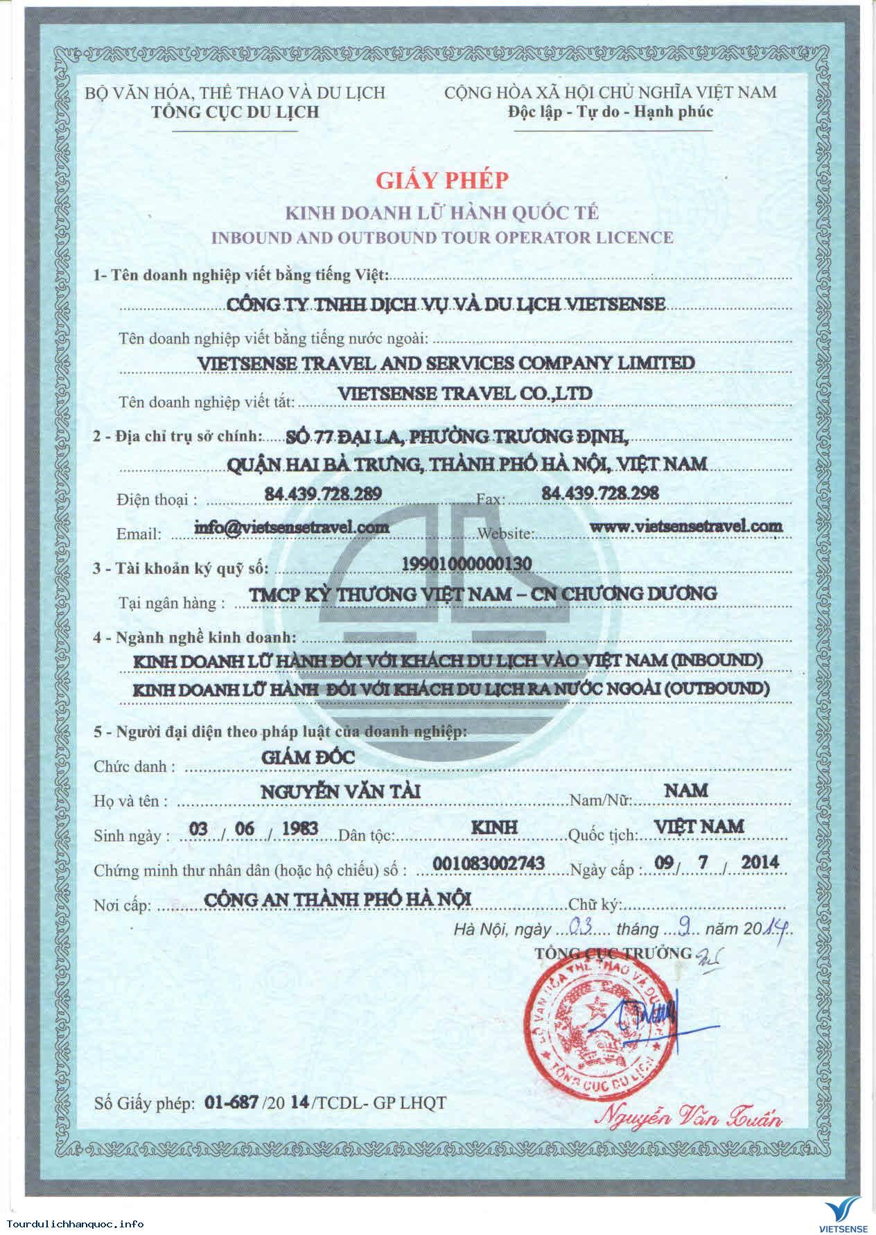 Quá Trình Hình Thành Và Phát Triển Của Công Ty Du Lịch Vietsense - Ảnh 1