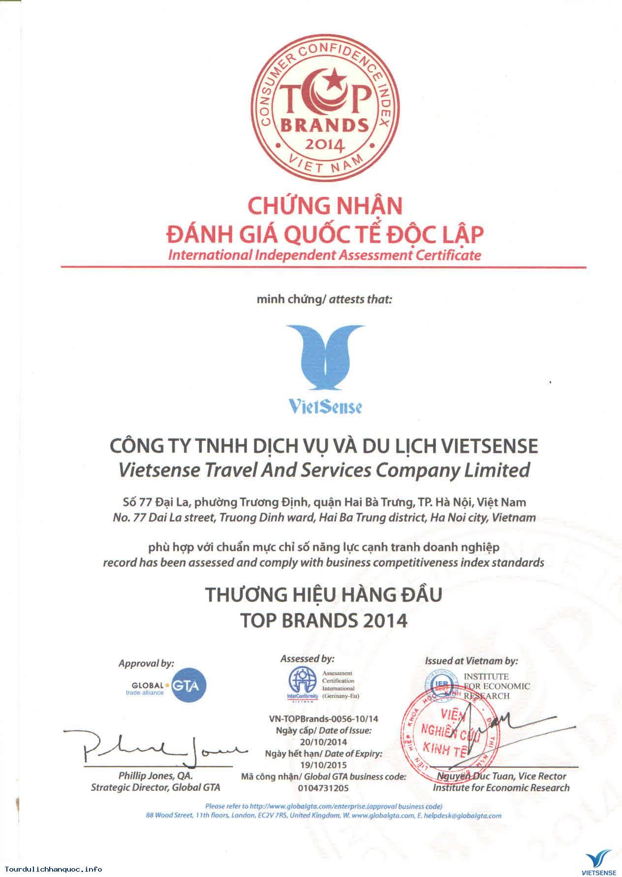 Quá Trình Hình Thành Và Phát Triển Của Công Ty Du Lịch Vietsense - Ảnh 2