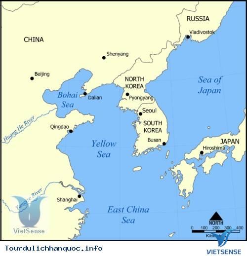 Saemangeum - Biển Hoàng Hải