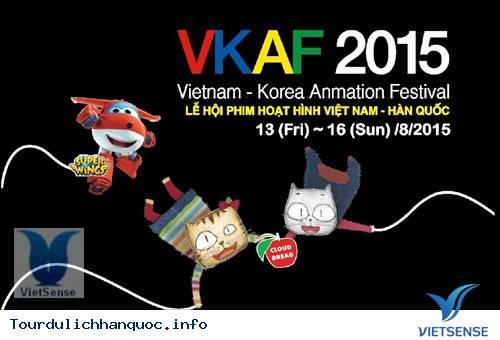 Sôi động cùng lễ hội loạt phim hoạt hình Hàn Quốc – Việt Nam