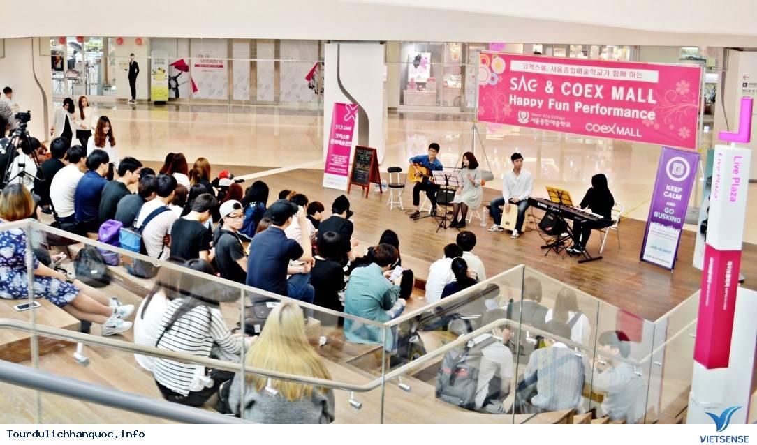 Thả mình giữa trung tâm mua sắm COEX Mall ở Seoul - Ảnh 3