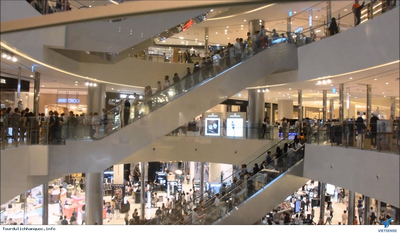 Thả mình giữa trung tâm mua sắm COEX Mall ở Seoul - Ảnh 1