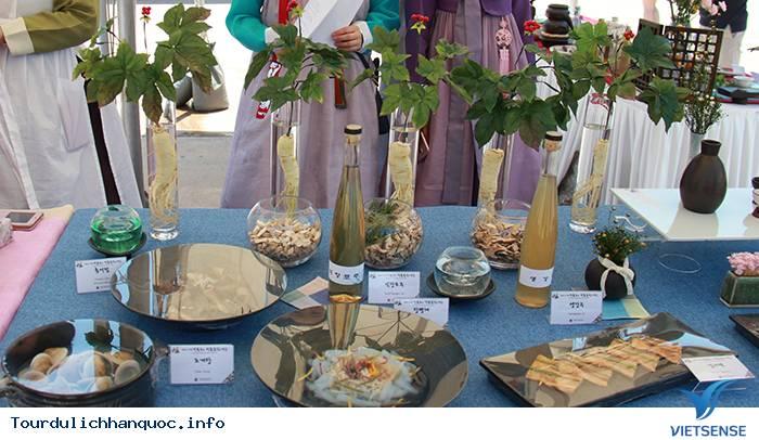 Thưởng thức rượu truyền thống trong làng cổ Hanok Namsangol Hàn Quốc - Ảnh 4