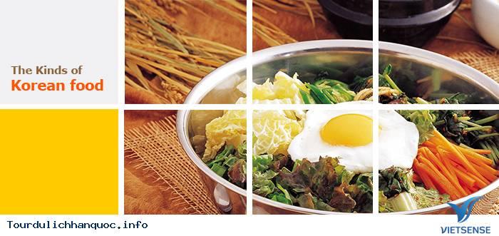 Tổng hợp các loại món ăn Hàn Quốc - Ảnh 1
